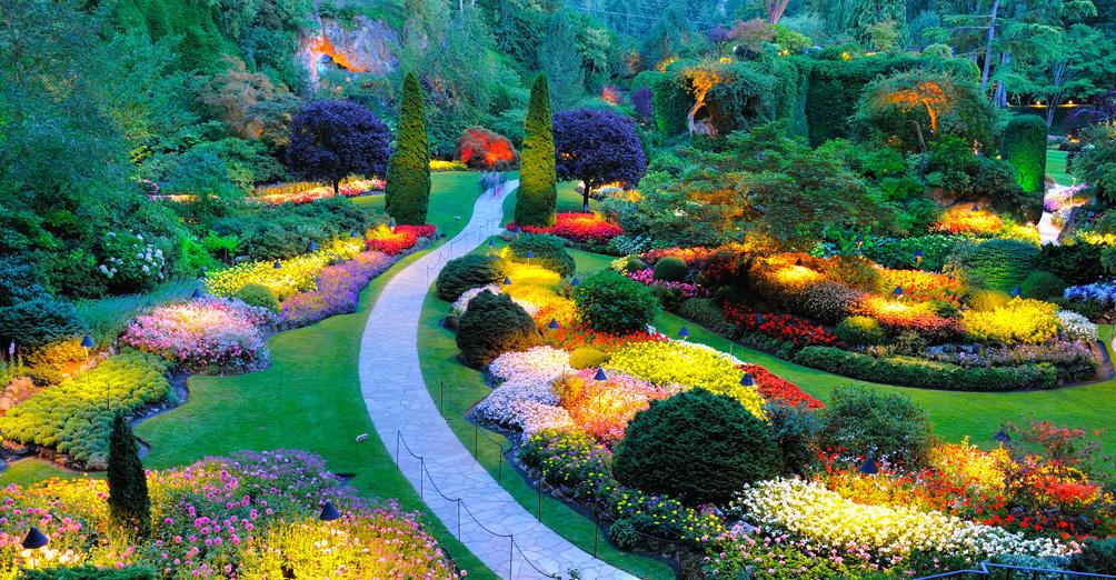 Butchart Gardens Tours ,
