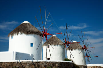 The Windmills (Kato Mili), Mykonos
