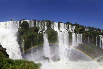 See Iguassu Falls from Brazil and Paraguay