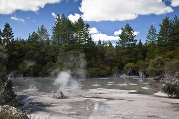 Geothermic Activity in Taupo
