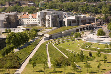 The Scottish Parliament (das schottische Parlament)
