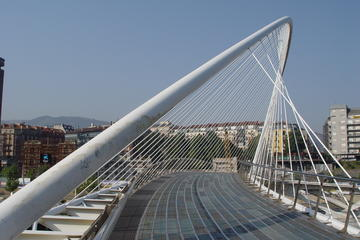 Bilbao's White Bridge
