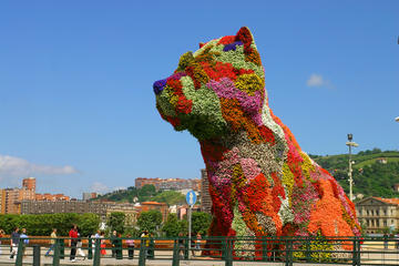 Flower Puppy, Bilbao, Spain