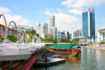 Exploring the Singapore Quays