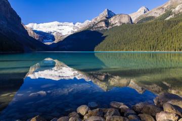 Victoria Glacier, Alberta