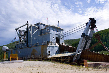 Klondike Gold Dredge