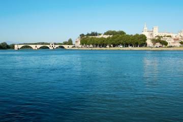 Rhône River, Avignon, France