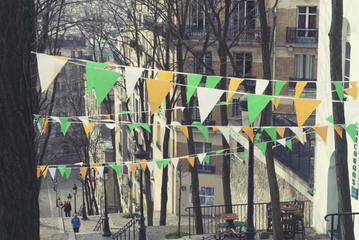 Summer in Paris: Montmartre and Renoir Gardens Fair