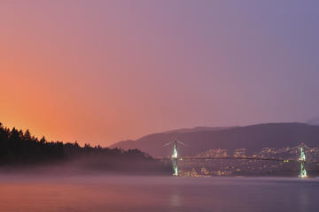 Lions Gate Bridge, British Columbia