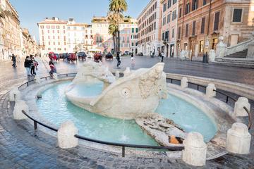 Barcaccia Fountain