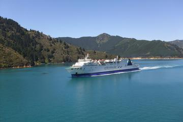 Taking the InterIslander Ferry in New Zealand