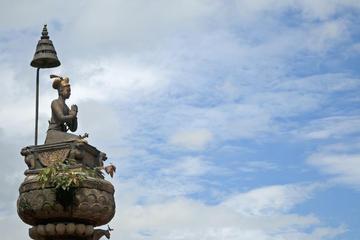 Bhupatindra Malla Statue