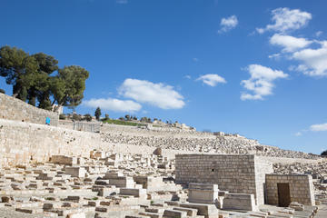 Mount of Olives Jewish Cemetery, Israel