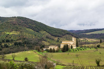 Abbey of Sant'Antimo (Abbazia di Sant'Antimo), Tuscany