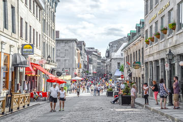 St Paul Street (Rue St-Paul), Montreal