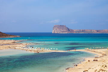 Balos Beach and Lagoon, Crete