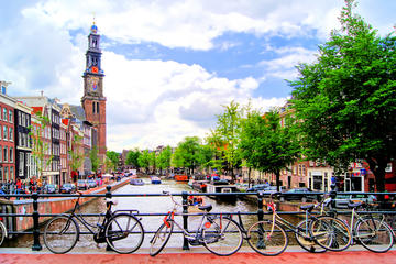 Exploring Amsterdam By Bike