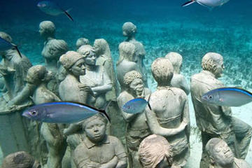 Cancún's Museum of Underwater Modern Art's SILENT EVOLUTION Complete