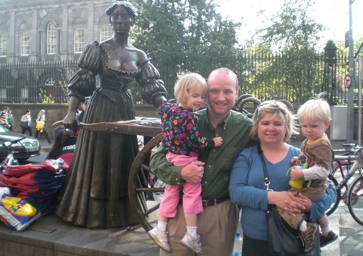 Estatua Molly Malone