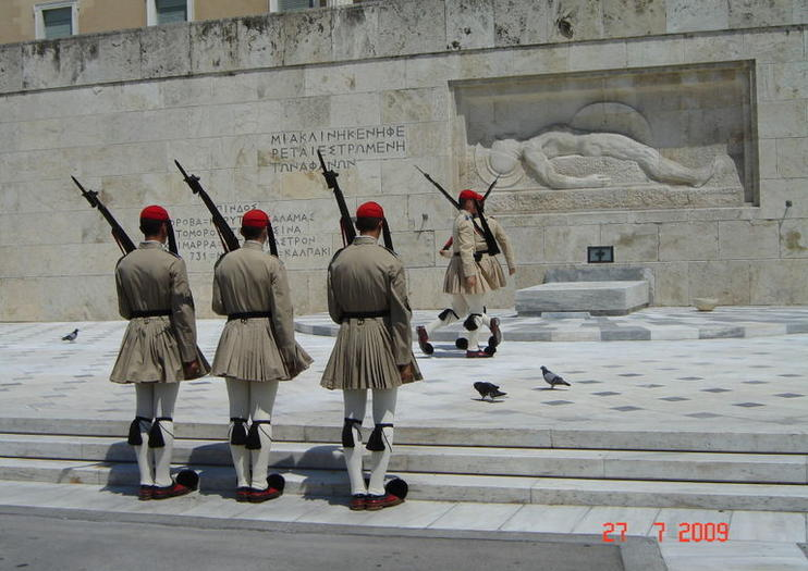 Tomb of the Unknown Soldier (Mnemeíon Agnostou Stratiotou)