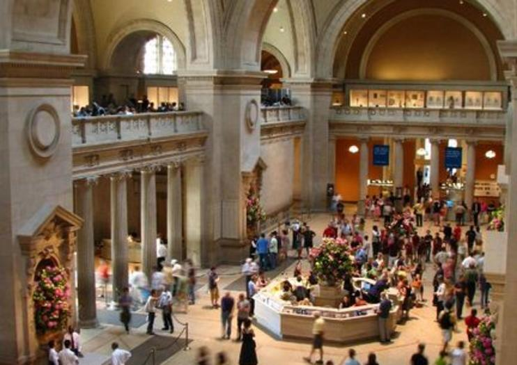Image result for MET Museum crowds