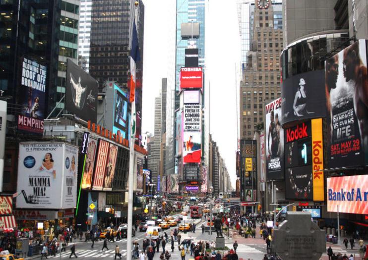 Times Square. Times Square es un legendario símbolo de NYC ... 0999f2f2411