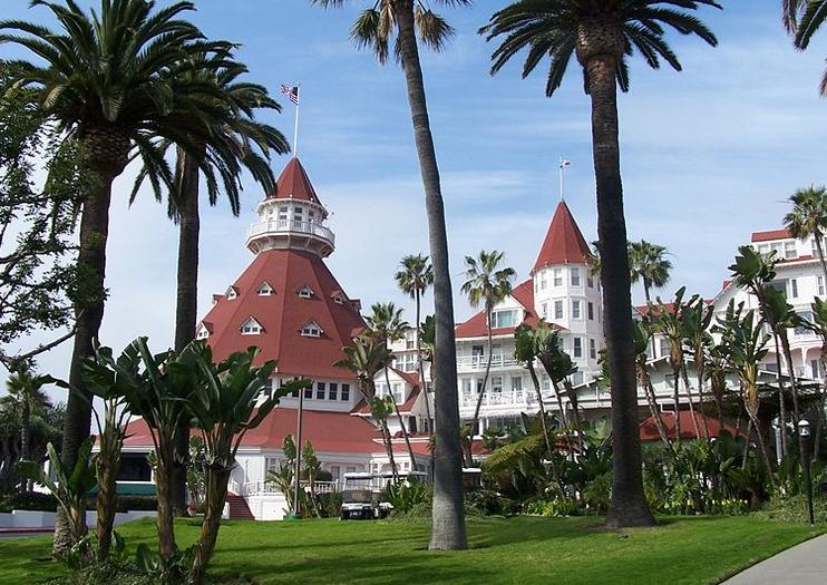 Across The Bay From Downtown San Go Small Resort Town Of Coronado Is An Idyllic Escape City With A Wide Sandy Coastline And Tree Lined