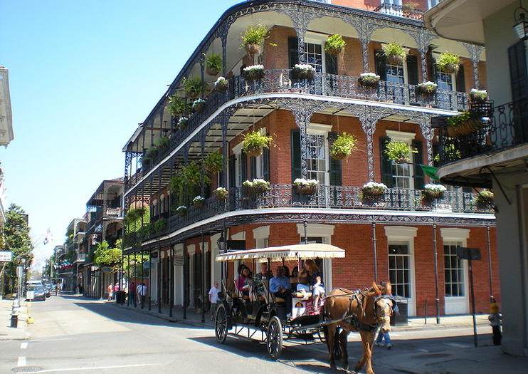 The French Quarter With Its Vibrant Atmosphere And Unique Blend Of Architectural Styles Is Easily New Orleans Most Famouost Por Area To Visit