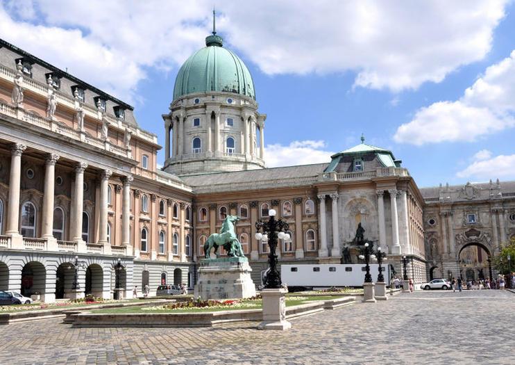 Palacio Real Buda (Királyi Palota) - Atracciones Budapest