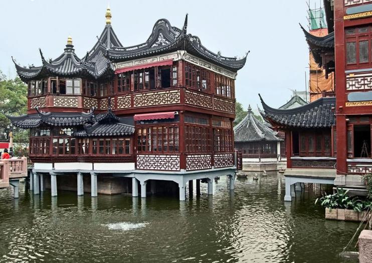 Casco Antiguo de Shanghai (Nanshi)
