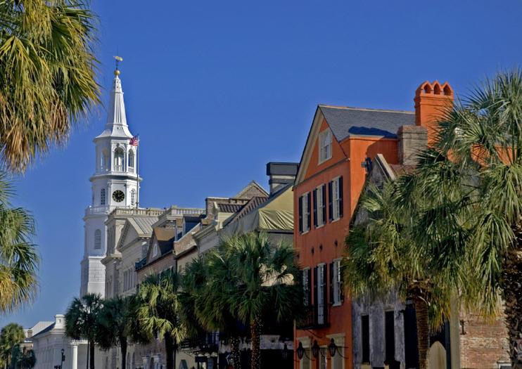 Charleston Suggested Itineraries