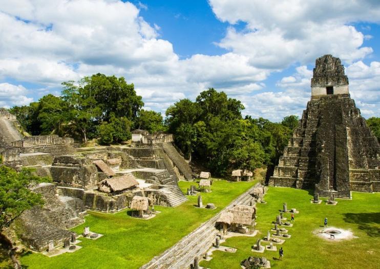 Ruinas  Tikal - Atracciones de Guatemala