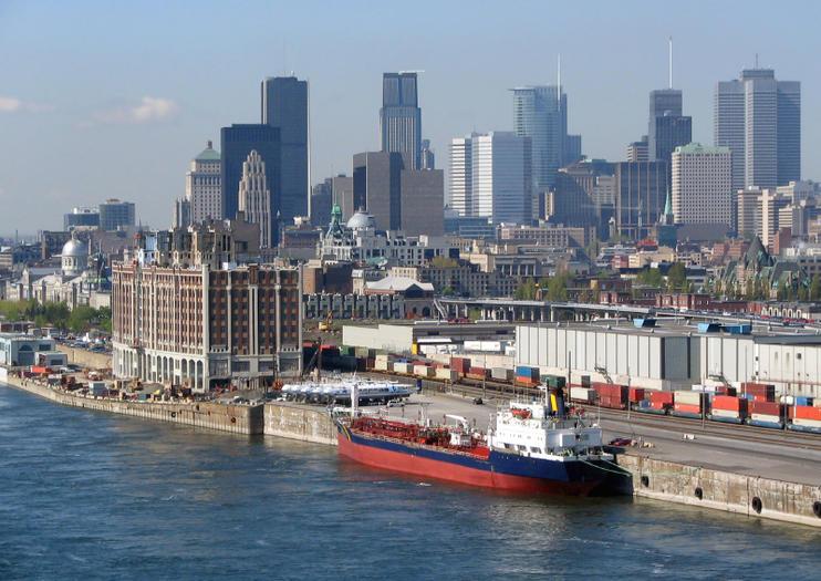 Montreal Cruise Port