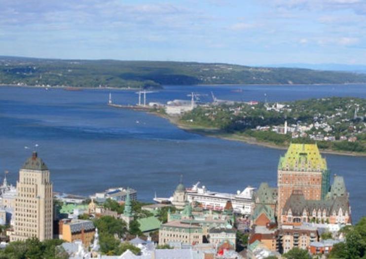 Port de croisière de la ville de Québec