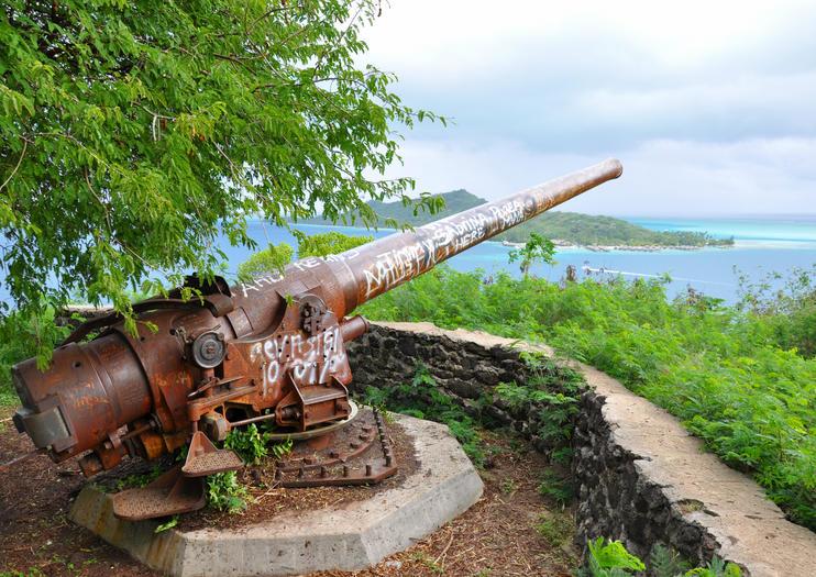 Recommendations World War Ii History In Bora Bora Viator