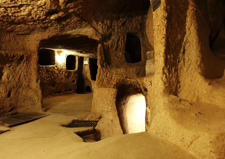 Slikovni rezultat za kaymakli underground cave