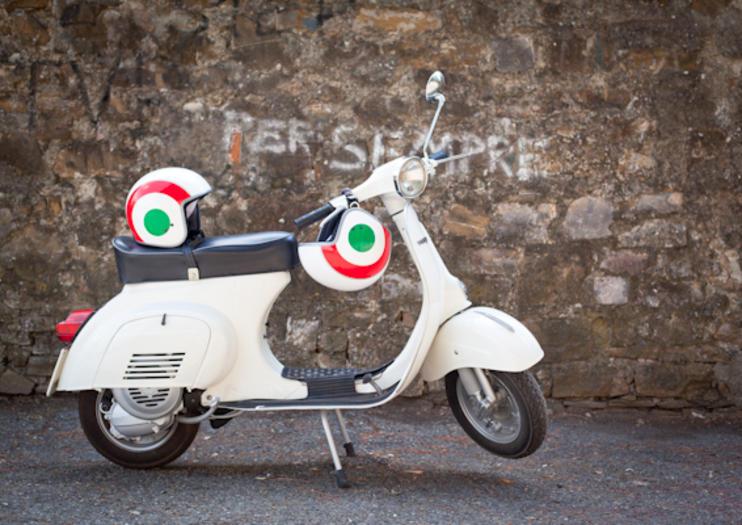 Florence on Vintage Wheels