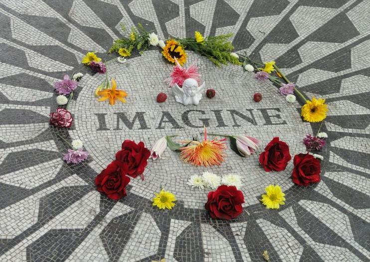 Strawberry Fields, Memorial John Lennon