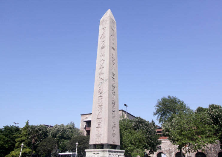 Egyptian Obelisk of Theodosius (Obelisk of Thutmose III)