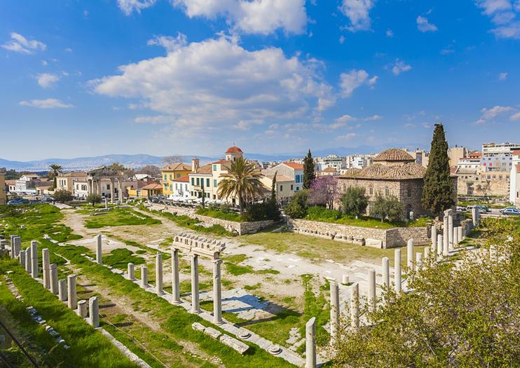 Ágora de Atenas - democracia griega ateniense