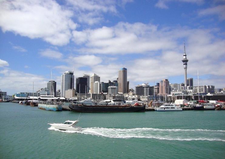 Porto de Auckland