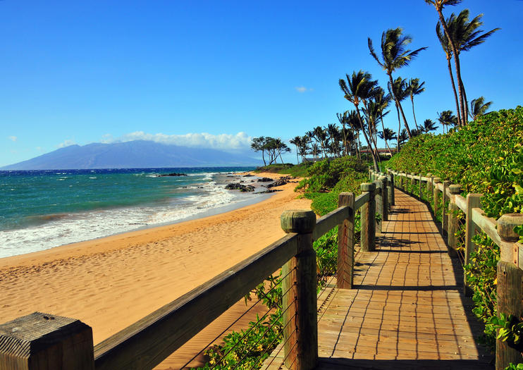 Although The Wailea Resort Complex Is Graced With Numerous Beaches Epicenter Of Beach Scene Will Forever Be