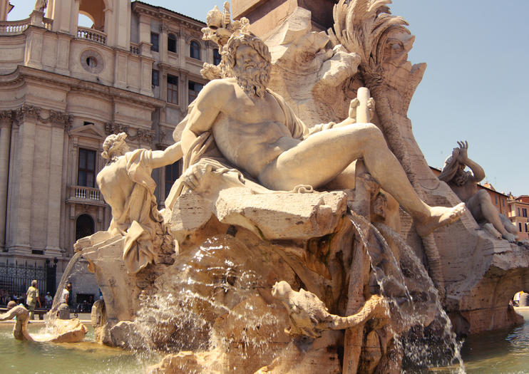 Fountain of the Four Rivers (Fontana delle Quattro Fiumi)