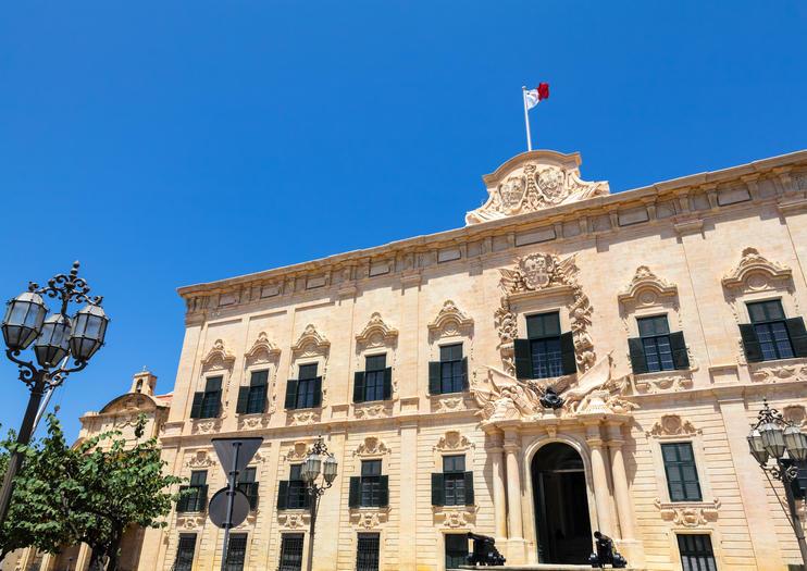 Best Auberge de Castille Tours, Trips & Admission Tickets - Valletta