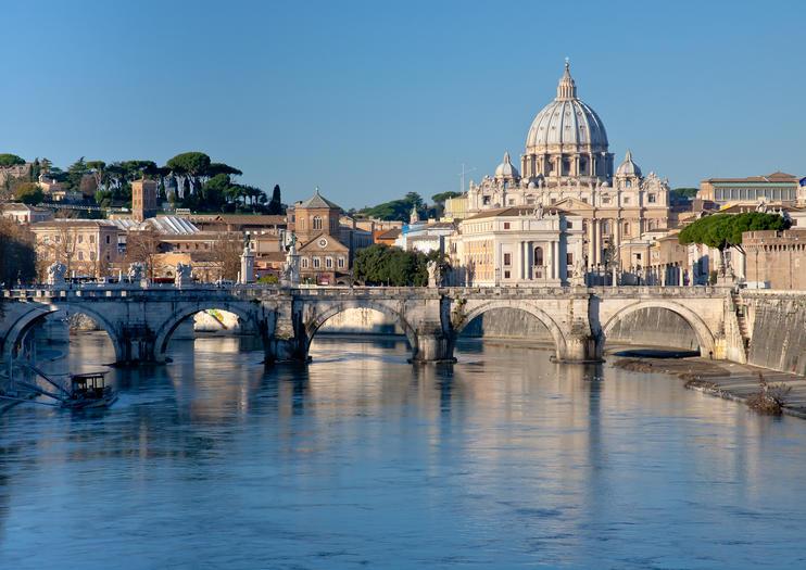 De Tiber rivier
