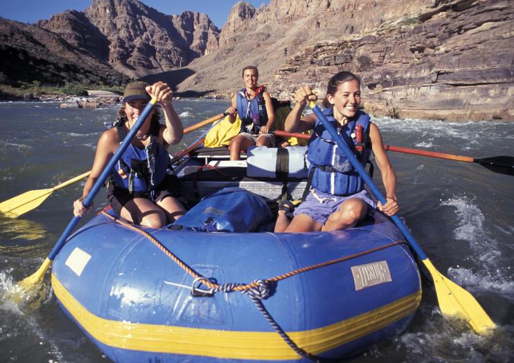 Excursiones de Rafting desde Las Vegas