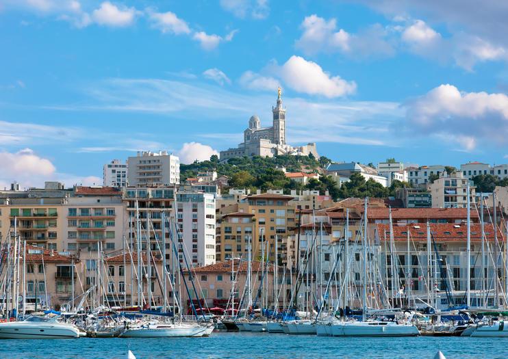 Fährhafen Marseille