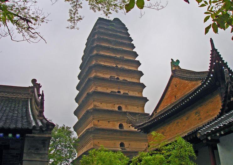 Xian-Museum und Kleine Wildganspagode