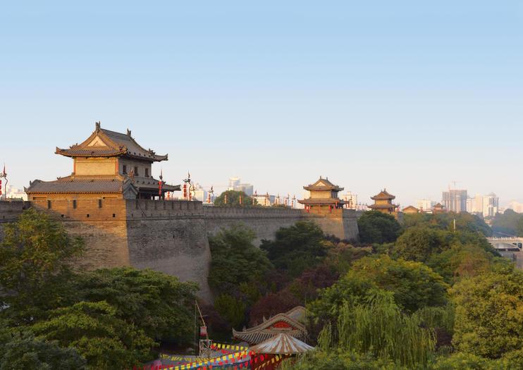 Xian City Wall (Chengqiang)