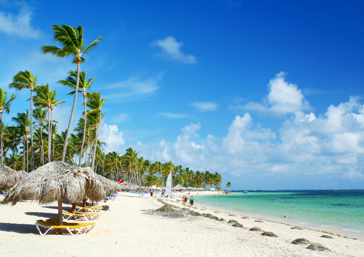 Punta Cana Beaches In The Dominican Republic Are Ideal Picture Of A Waterfront Paradise With Their Pristine White Sand Turquoise Waters And Countless Palm